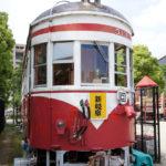 岐阜の街中でみつけたレトロ ―柳ヶ瀬商店街と丸窓電車―