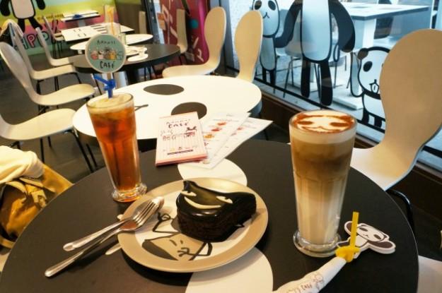 台湾 台北のARANZI Cafe 3号店の店内