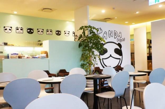 台湾 台北のARANZI Cafe 3号店の店内写真