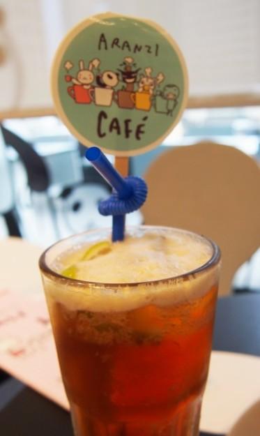 台湾 台北のARANZI Cafe 3号店のアイスフルーツティー