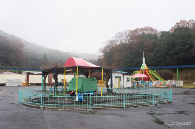 秋吉台サファリランド遊園地のアストロヘリ