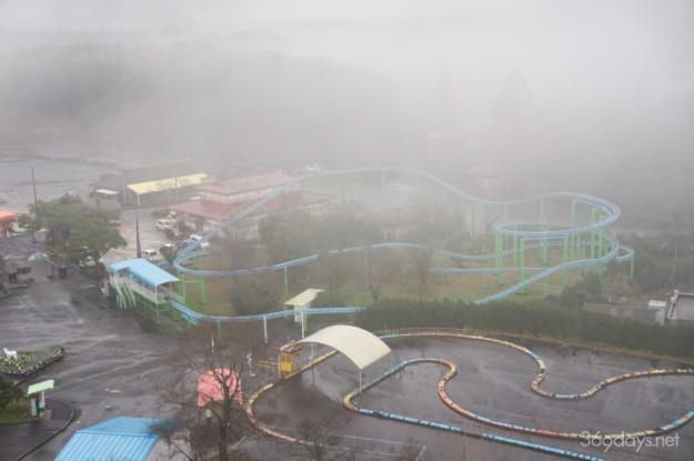 秋吉台サファリランド遊園地のジェットコースター