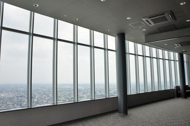 岐阜シティ・タワー43の展望台