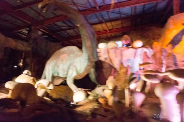 秋吉台サファリランド遊園地の謎の地底探検の内部