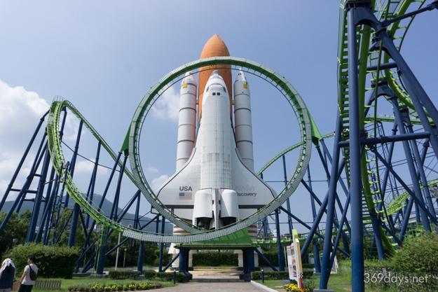 スペースワールドのスペースシャトル