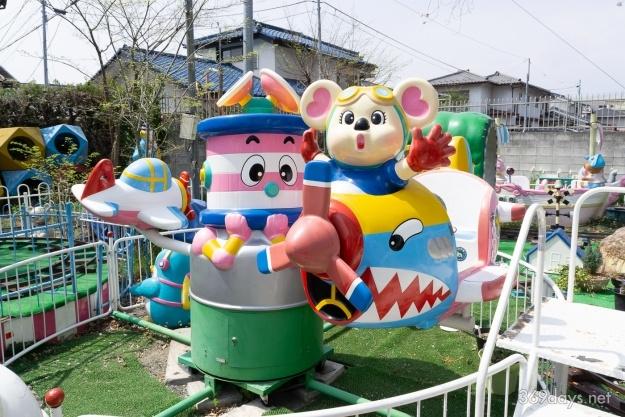 甲府市遊亀公園付属動物園内こども遊園地